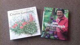 Gardening books £1- £3 each
