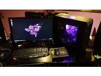 Fast gaming PC I5 2500k OC 4.4/GTX 760 OC full setup