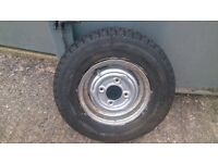 AUSTIN/MORRIS MINI 145 X 10 STERLING REMOULD TYRE AND RIM £10 IDEAL TRAILER, KETTERING