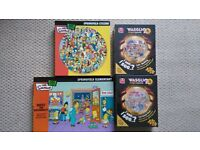 Simpson and Waggij Jigsaws