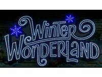 HALF PRICE WINTER WONDERLAND TICKETS