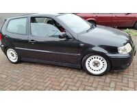 Vw polo GTI, I year mot 1.6 petrol engine cheap on fuel and tax, service history central lock