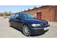 BMW 318i BLACK FULL GRAY LEATHER GOOD ENGINE
