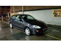 1999 Ford Focus 1.6 Zetec MOT + TAX DRIVE AWAY BARGAIN 3 Door Clio Corsa 206 Astra Micra C3 Megane