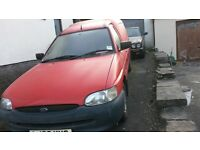 Ford Escort 55 1.8 diesel Van (Ex Post Office for spares or repair)