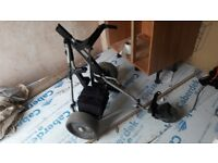 Power caddy kaddy golf trolly fully working with new battery