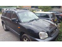 Hyundai santafe fe 4x4 diesel