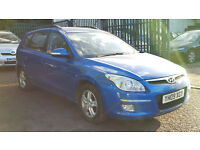 2009 Hyundai I30 1.6 CRDi Diesel Estate Blue + LONG MOT + HPI Clear