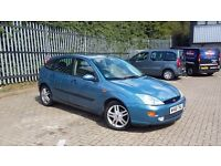 Focus 2.0 zetec esp 5 door 2 owners low miles, FULL 12 MTH MOT