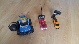 3x RC Cars