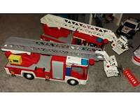 Playmobil fire engines