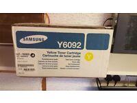 Samsung Yellow Toner Cartridge - Y6092 - New Boxed