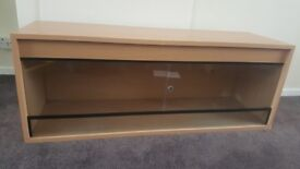 "Vivarium 48""long 15""high 18""deep. Fantastic condition, built in lock in glass but no key."