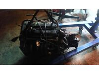 Ford fiesta zetec s engine and gearbox