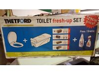 Brand New Thetford C200 Toilet Fresh-up Set For Caravans and Motorhomes