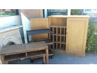 Ex post office pine cupboard