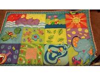 Mothercare sensory baby mat