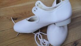 New White Tap Shoes size 12