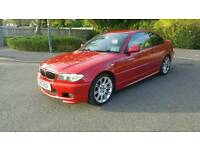 BMW 320i 2.2 2004 Red Full Black Leather in great condition runs perfect