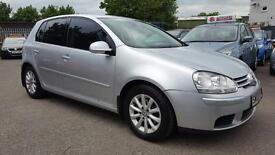 VW GOLF 1.9 TDI MATCH 5 DOOR 2008 / 1 OWNER / CAMBELT + CLUTCH DONE / FSH / HPI CLEAR / 2 KEYS