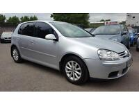 VW GOLF 1.9 TDI MATCH 5 DOOR 2008 / 1 OWNER / CAMBELT + CLUTCH DONE / FSH / HPI CLEAR / 2 KEYS