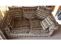 Sofa for Sale, Designer Zebra Pattern, Good Price