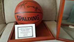 NBA Signed Basketballs with COA for Sale