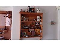Pine Wall Shelves
