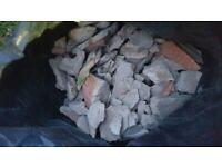Free rubble, 10 bags