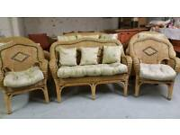Wicker Conservatory Furniture 2 seater, 2 chairs