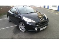 peugeot 207 GT 1.6 turbo diesel 2009 convertible full leather excellent condition