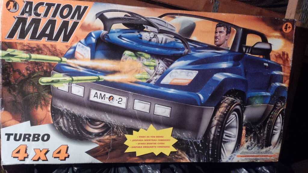 Action Man 4x4 Vehicle Plus 8 Figures Amp Accessories In