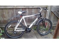 MEN'S BIKE £50 POUND SOLD AS SEEN NO OFFERS NO TIME WASTER PLEASE /DELIVERY AVAILABLE 🚚