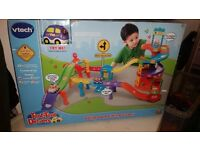 Vtech toot toot drivers ultimate parking tower brand new
