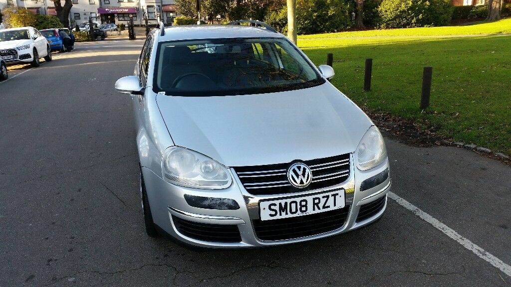 2008 Volkswagen Golf 1.9 TDI S 5dr Estate Fully HPI Clear Warranted Mileage @07725982426 @