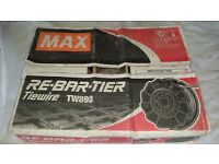 MAX RE-BAR TIEWIRE TW898 21guage 72 rolls