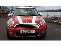 Mini One 2012 Great Colour Combination, Pepper pack, Low Mileage