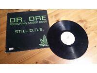 Hip Hop, Rap and R&B Vinyls. Good condition.