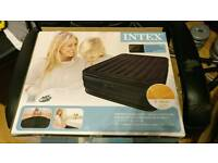 Intex deluxe double airbed