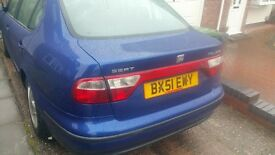 SEAT TOLEDO V5 170BHP ALL ROUND GOOD CONDITION NEW BREAK DISC ALL ROUND AND PADS
