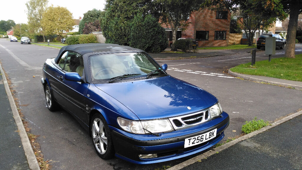 Saab 9 3 Convertible For Spares Or Repairs Mot Until Jan 2017