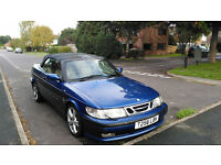 Saab 9-3 Convertible for sale. Spares or Repairs. MOT until Jan 2017