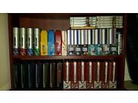 STAR TREK ENTIRE DVD COLLECTION: TOS, TAS, TNG, DS9, VOY, ENT, FILMS plus Blurays