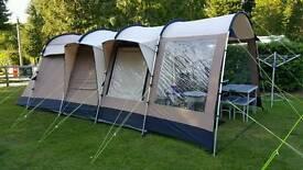 Royal winnipeg 4 berth polycotton tent plus equipment