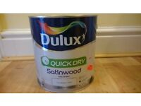 Brand New Dulux White Paint (Wood/Metal), 2.5l.