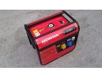 Honda generator em 6500cx 6.5kva