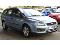 2006 FORD FOCUS 1.6 SPORT 16V 5d AUTO *LOW MILEAGE 55K*PART EX WELCOME*24 HOUR INSURANCE*WARRANTY*