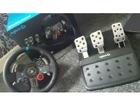 logitech g29 racing wheel ps3 / ps4 pc