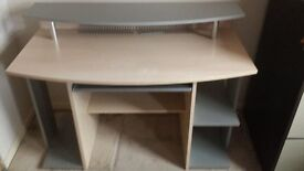 computer desk in very good condition with instructions complete
