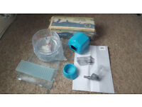 Small cage for small pet hamster etc with accessories USED